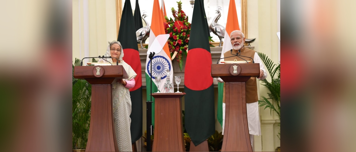 Video Inauguration of Bilateral Projects in Bangladesh by Sheikh Hasina, Prime Minister of Bangladesh and Prime Minister Narendra Modi from New Delhi  October 05, 2019