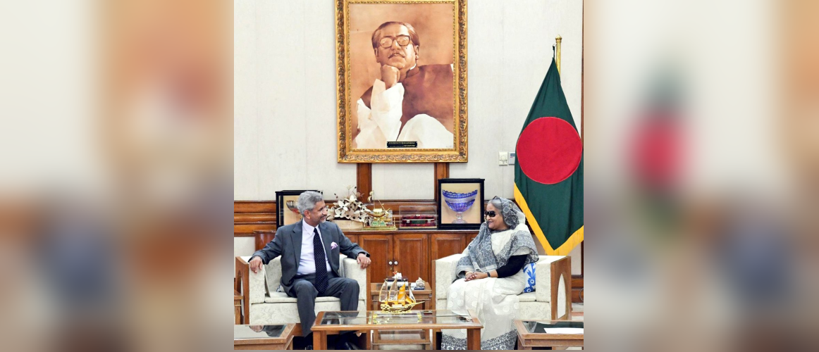 EAM Dr S Jaishankar called on PM H.E. Sheikh Hasina (20 August 2019)