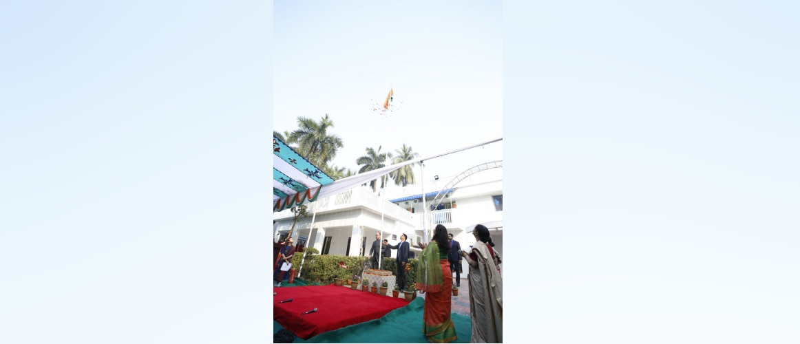 Assistant High Commission of India, Khulna celebrated the 71st Republic Day of India